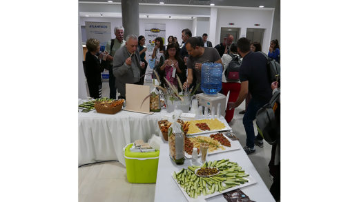 Opening day reception